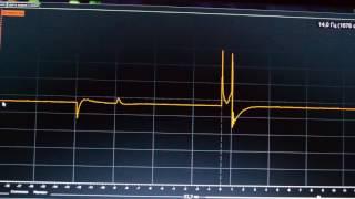 осциллограмма первичной и вторичной цепи. В чём неисправность?