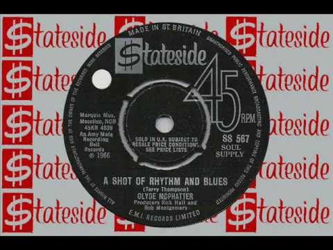 CLYDE McPHATTER A shot of Rhythm and Blues
