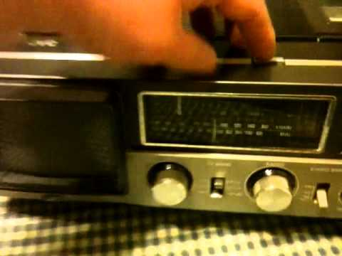 Neat Old Jvc Color Tv  Radio  Cassette Portable