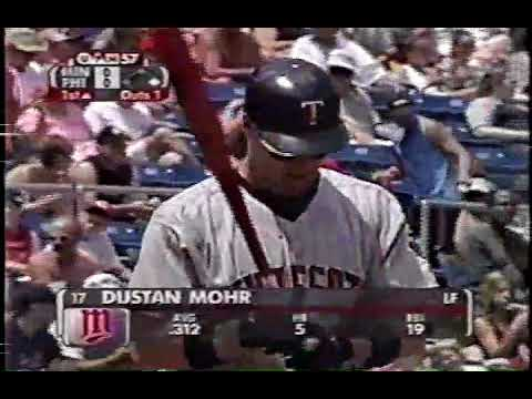 2002 Phillies vs Minnesota   Johan Santana vs Randy Wolf