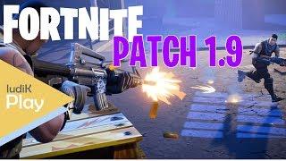 PATCH 1.9: LAUNCH PLATFORM ET NEW SHOTGUNS! FORTNITE ? Gameplay espagnol