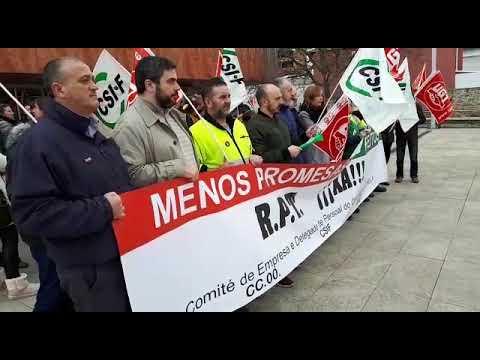 Os traballadores municipais de Burela esixen a elaboración da RPT