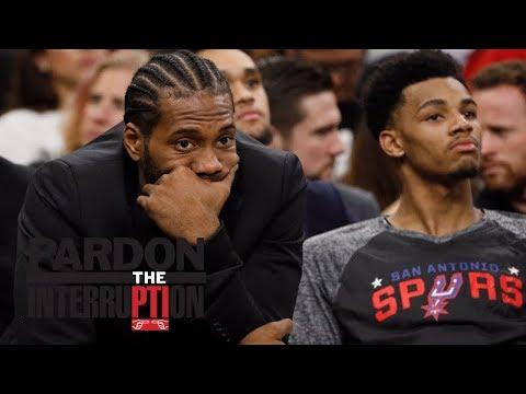 How worried should Spurs be about Kawhi Leonard? | Pardon the Interruption | ESPN