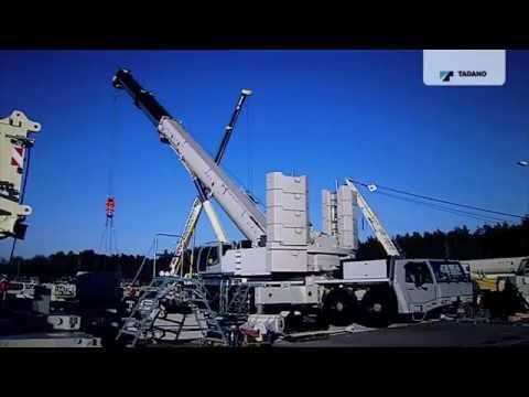 Tadano 400 tons crane