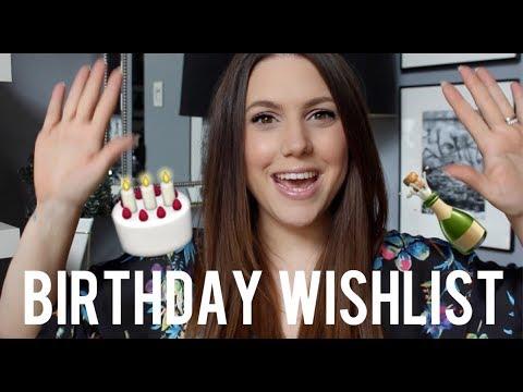 My Birthday Wishlist
