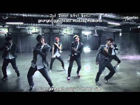 EXO - Growl (Korean ver.) MV [English subs + Romanization + Hangul] HD