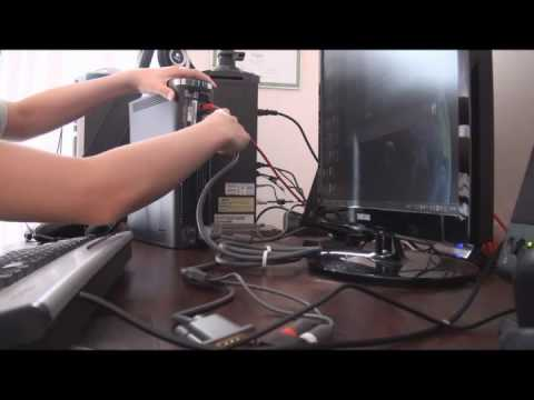 how to play xbox 360 on pc monitors and speakers youtube. Black Bedroom Furniture Sets. Home Design Ideas
