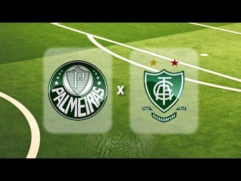 Palmeiras x América-MG AO VIVO Brasileirão Série A 2016 [CanalJGEsportes]