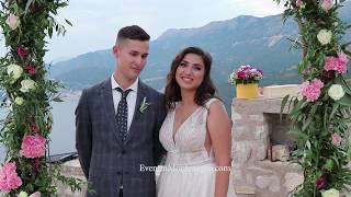Отзыв о свадьбе в Черногории