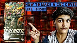 || CLASH OF CLANS || MOBILE COVER AT HOME|| DIY || EASY || AT HOME || LATEST || HINDI || TEMPLATE ||