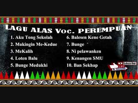Lagu Alas Voc. Cewek asal Asal Aceh Tenggara