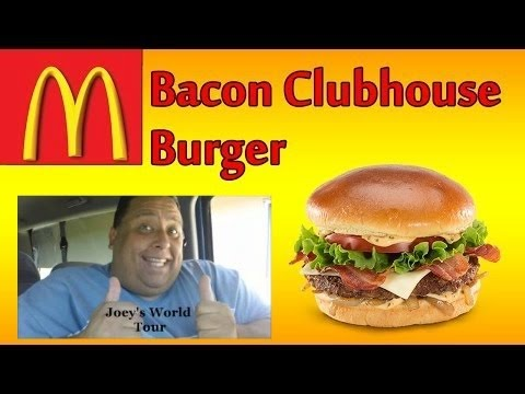 mcdonald's®-bacon-clubhouse-burger-review!