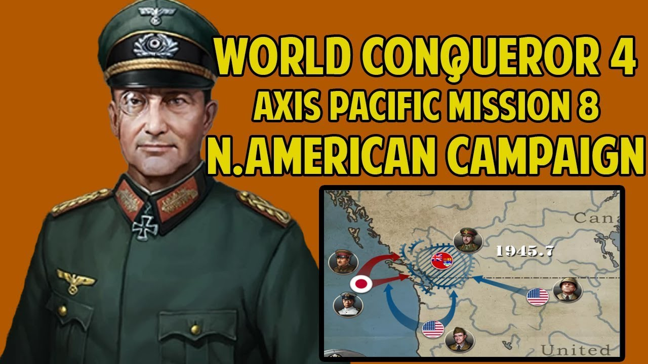 PACIFIC-HARD] Let's Play North American Campaign World