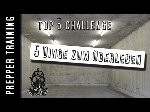 Prepper - Top 5 Challenge | Getagged von Palatiolum | German HD 1080p