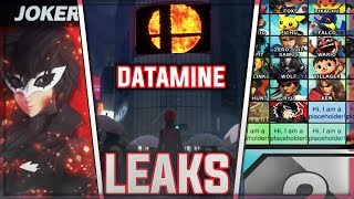 Joker VIDEO CSS LEAK + BIG Datamined INFO - Super Smash Bros Ultimate