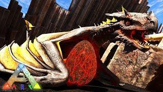 ARK: SURVIVAL EVOLVED - FIRE DRAGON BABY!!