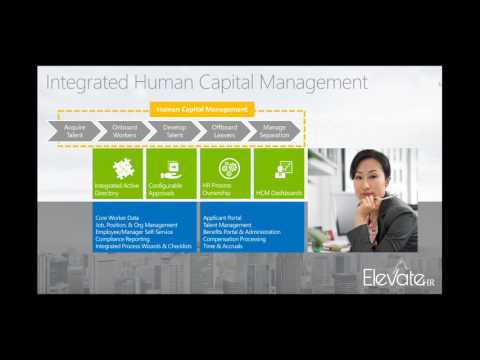 Elevate HR Innovation Expo Webinar: Human Capital Management, D365O's Hottest New Topic!
