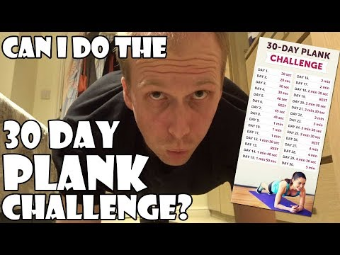 Can I Do The 30-Day Plank Challenge?