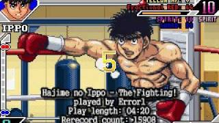 Hajime no Ippo - The Fighting! error1 TAS 4:20 GBA