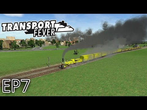 Transport Fever Gameplay | Signalling And Points Tutorial | Episode 7