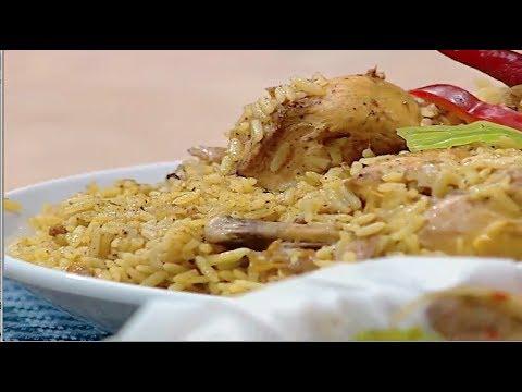 كبسه الدجاج الشيف #نونا من برنامج #البلدى_يوكل #فوود