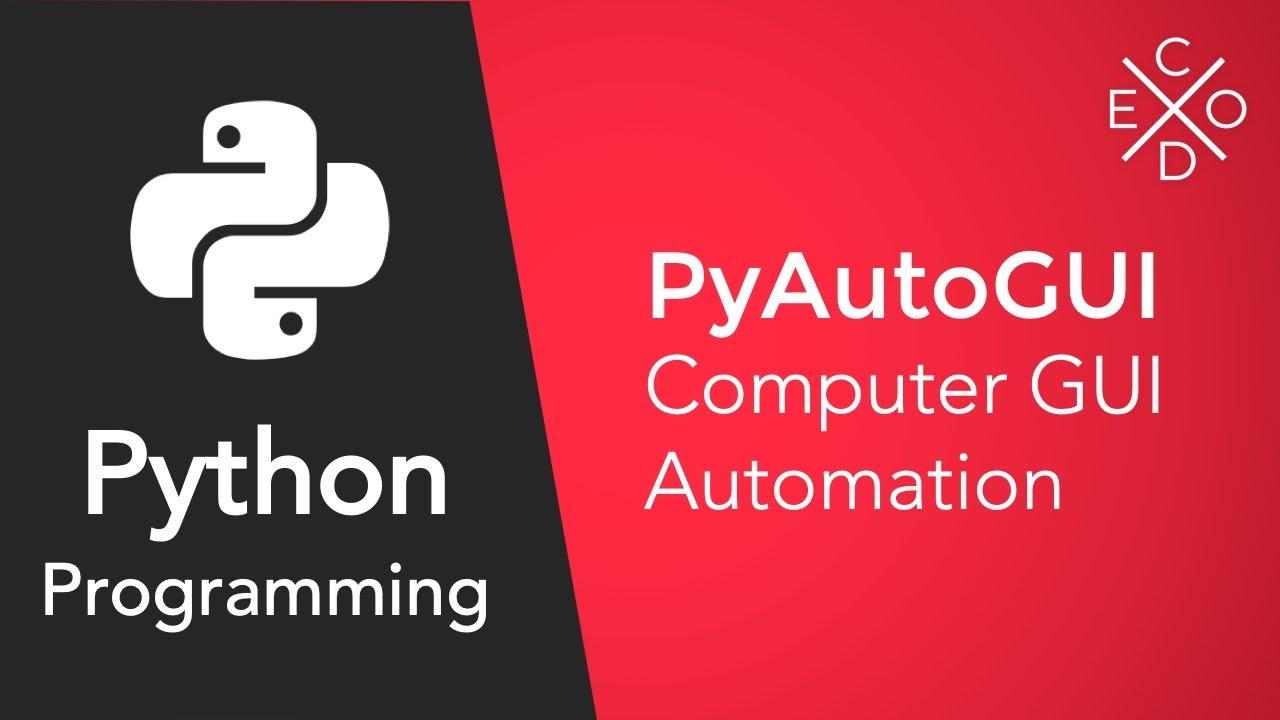 Advanced Python Programming - GUI Automation with PyAutoGUI