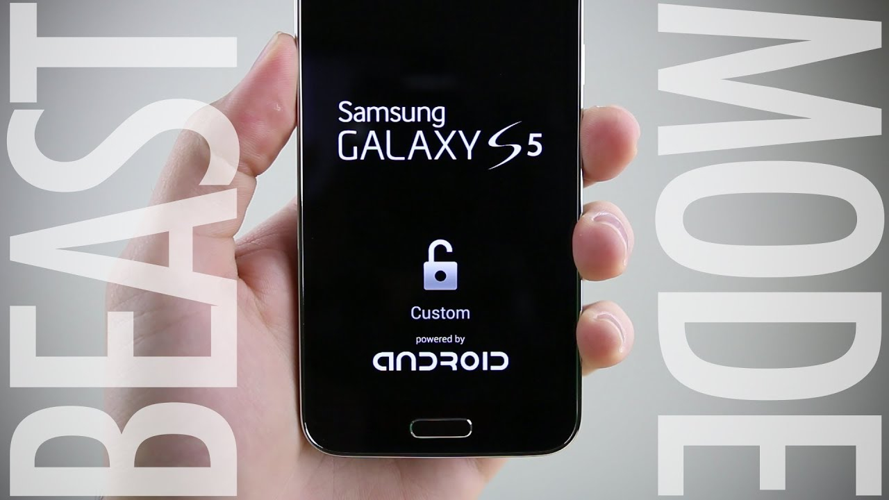 How To Activate Beast Mode On Samsung Galaxy S5 Youtube