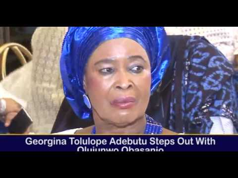 SIR KESINGTON ADEBUTU AND FRM PRESIDENT OLUSEGUN OBASANJO FAMILY BECOME ONE IN MARRIAGE