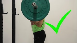 #1 TIP TO OVERHEAD PRESS HEAVY WEIGHT (My Best Advice)