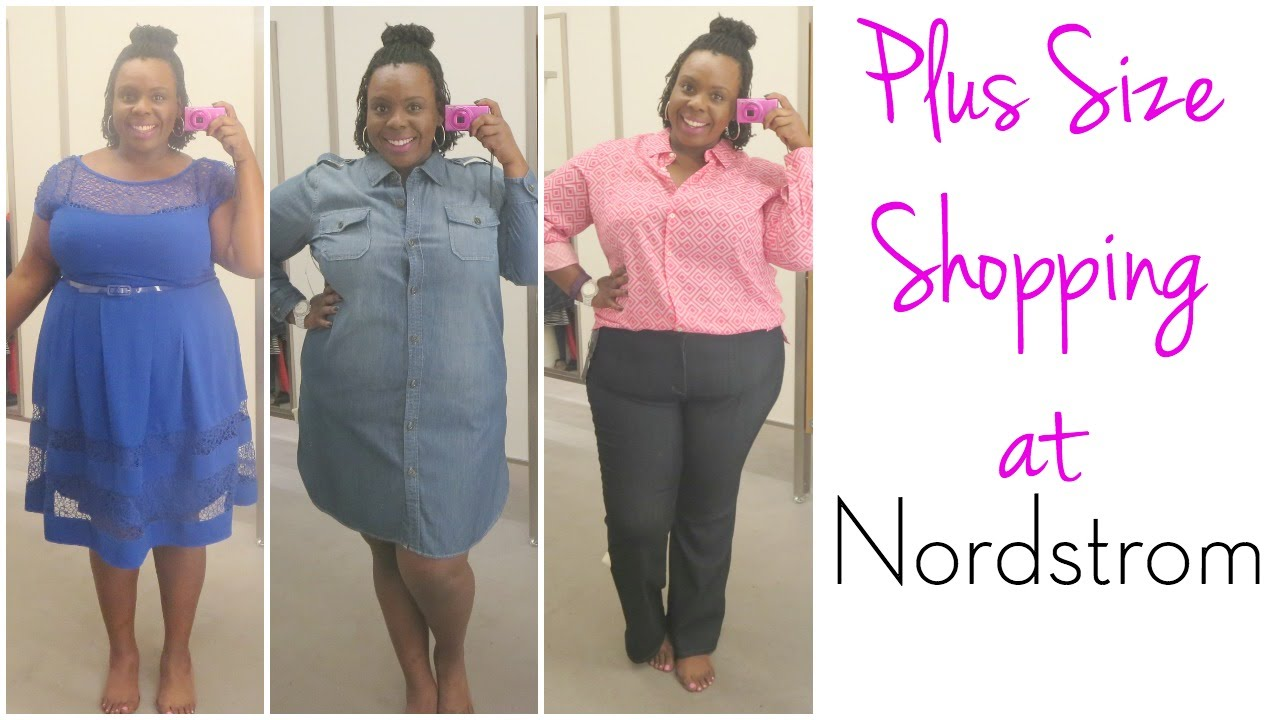 Plus Size Shopping at Nordstrom | Dressing Room Diary - YouTube