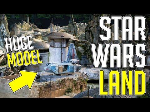 Star Wars Land Model! - News | Disney