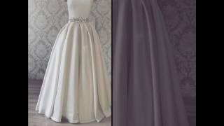 видео Платье с отстегивающейся юбкой: вечернее, свадебное