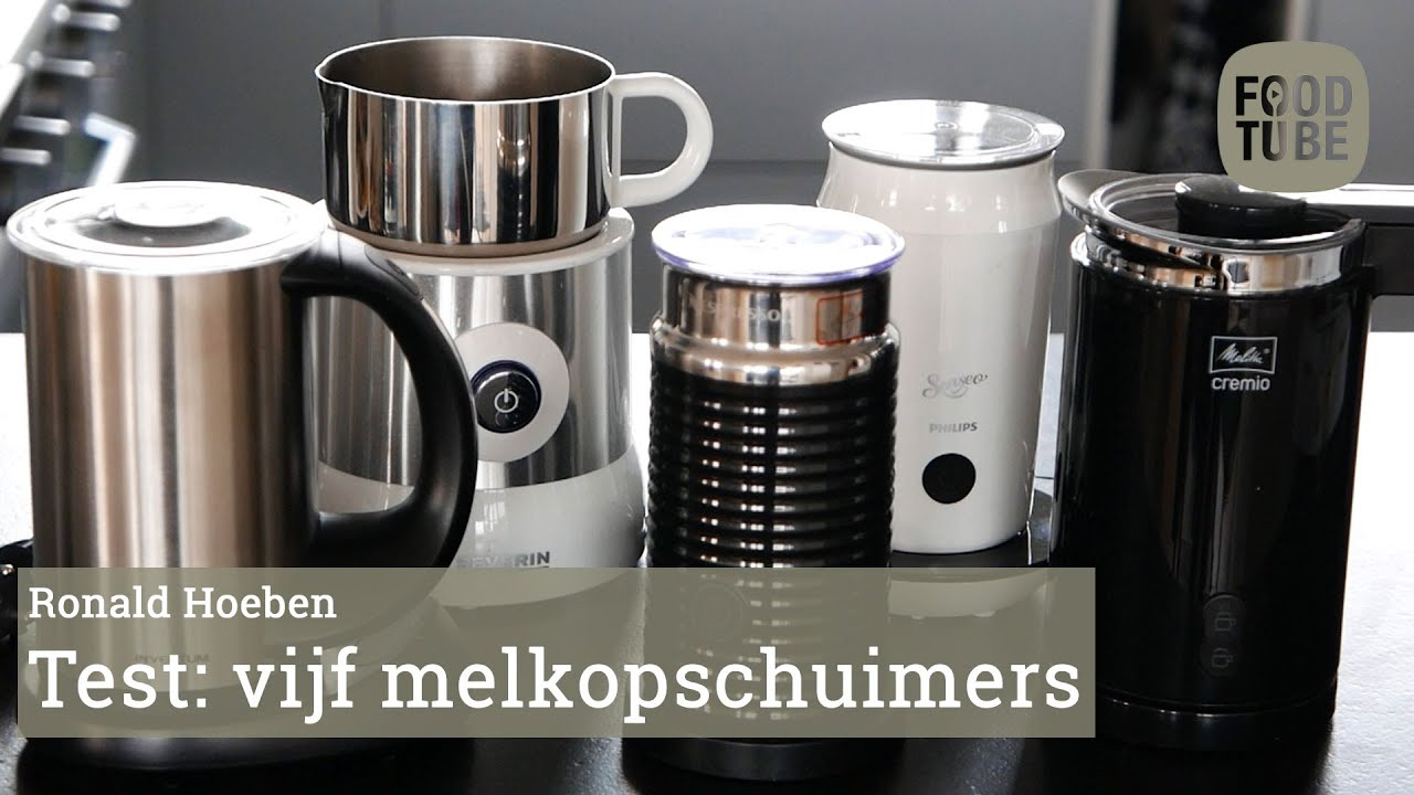 foodtube test vijf melkopschuimers youtube. Black Bedroom Furniture Sets. Home Design Ideas