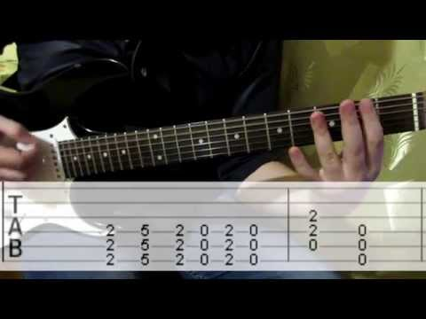 Audioslave Show Me How to Live cover tab + chords how to play guitar lesson