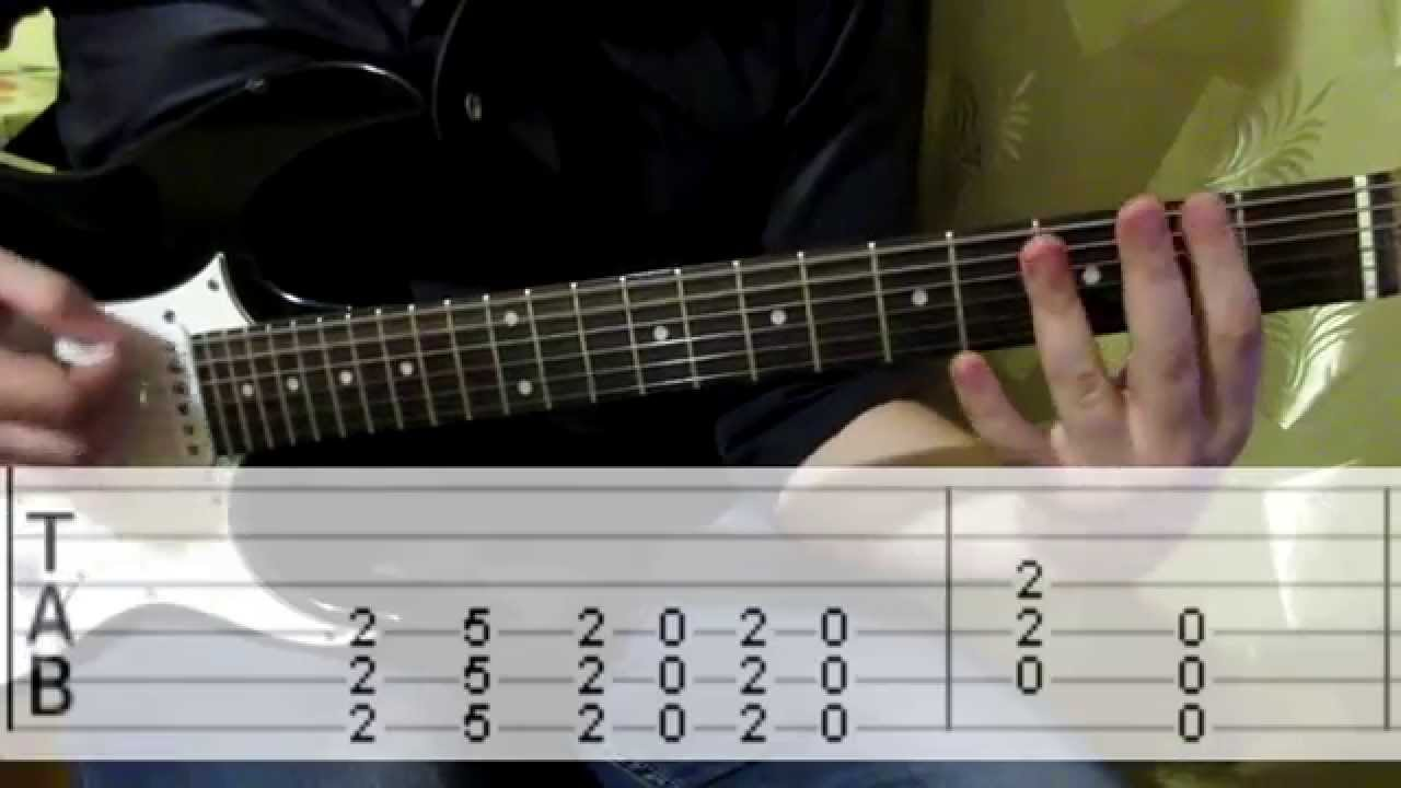 how to play tap guitar