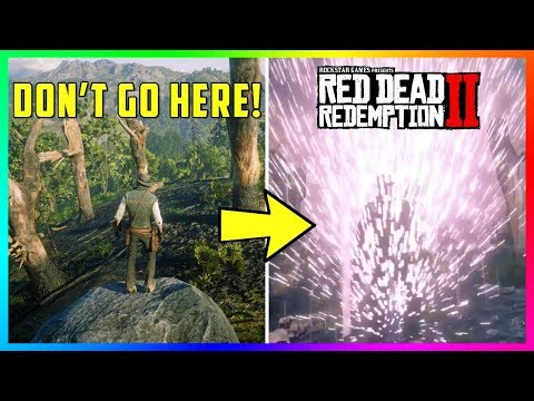 DO NOT Go To This Location In Red Dead Redemption 2 Or Else This Will Happen To You! (RDR2 Secrets)