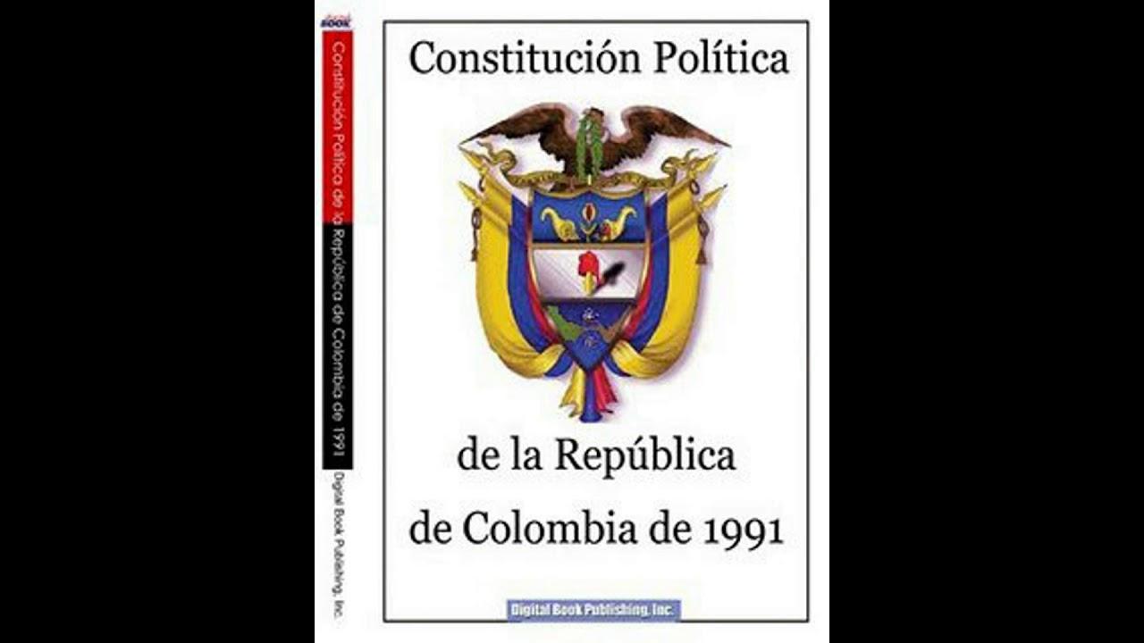 Audiolibro Constitución Política De Colombia Título 2 De Los Derechos Las Garantías
