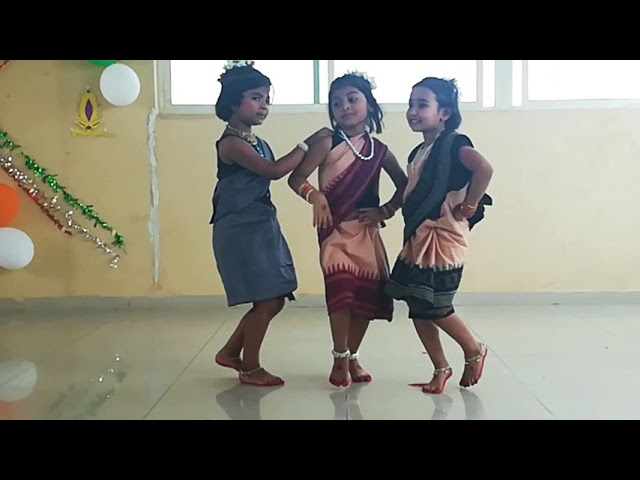 Phatai khaili Bela, Sambalpuri folk song | sambalpuri dance steps for kids | Simple dance steps