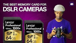How to Buy DSLR Camera Memory Cards