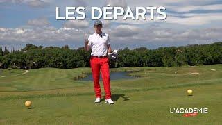 Règles de Golf : les départs (n°2)