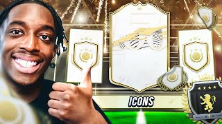 WE DID THE PRIME OR MID ICON PACK AND GOT...