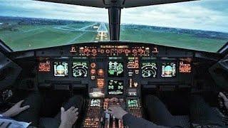 Smooth COCKPIT Landing! Airbus A321-200 into Copenhagen Airport