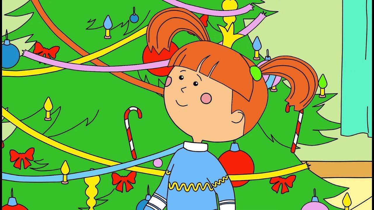 Раскраска с Царевной - Дед Мороз для всех - Учим цвета с малышами! - Мультики про зиму