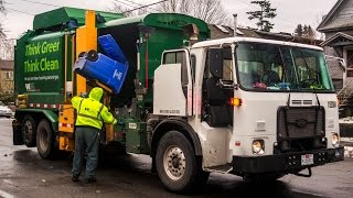 autocar acx labrie expert 2000 garbage truck