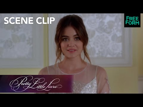 Pretty Little Liars | Series Finale: Aria's Wedding Dress Reveal | Freeform