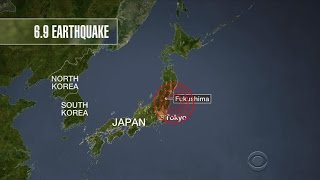 Earthquake hits off coast of Japan