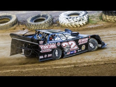 Greg Oakes #22 | In-Car Camera | Hesston Speedway | 7-1-17