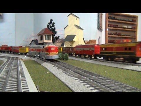 Marx Mayhem Volume Two - Kansas City Southern and Monon Freight Sets