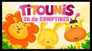 Comptines et chansons - 3h - Monde des Titounis - Ah les crocodiles