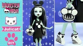 Монстер Хай Френки Штейн DIY Одежда для куклы с Микки Маусом своими руками Легкий пластилин